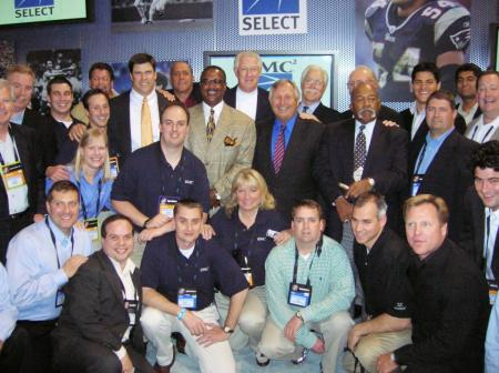 EMC Select @ EMC World 2006 Boston w/ sports greats