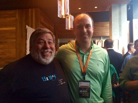 The Woz and me